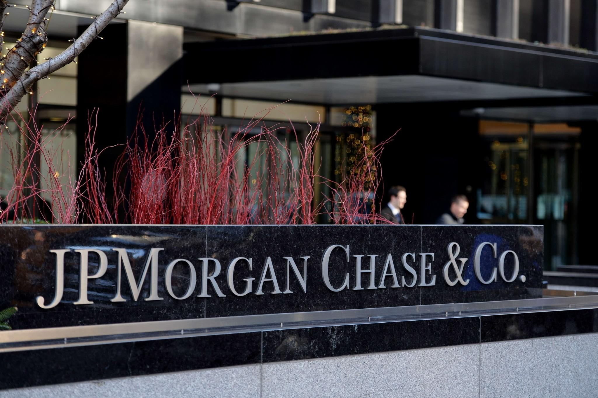 The headquarters of JP Morgan Chase on Park Avenue in New York.