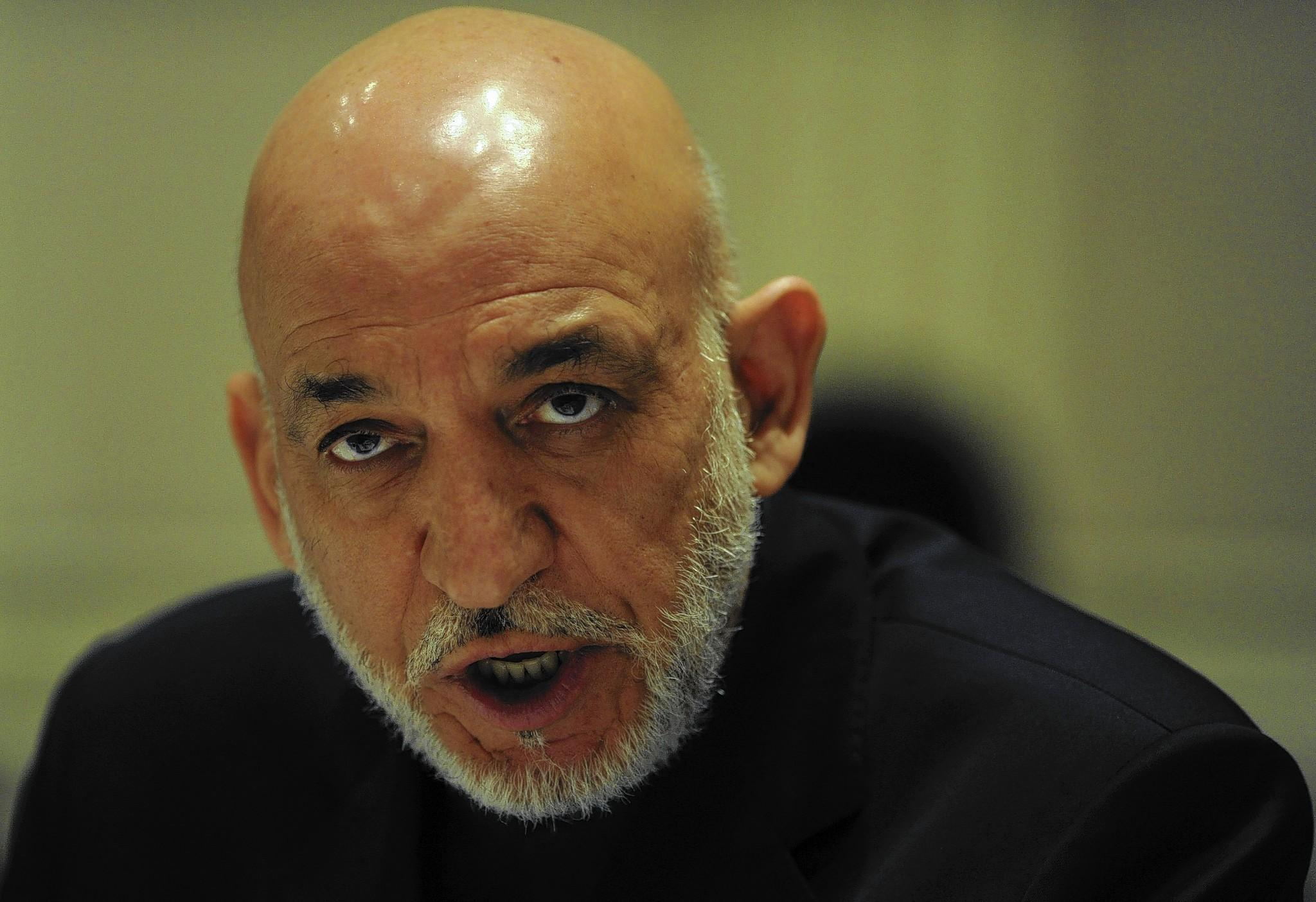 Afghan President Hamid Karzai has said he'll let his successor sign or not sign the security agreement with the U.S.