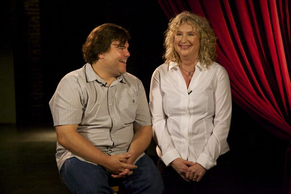 Jack Black and Debbie Devine