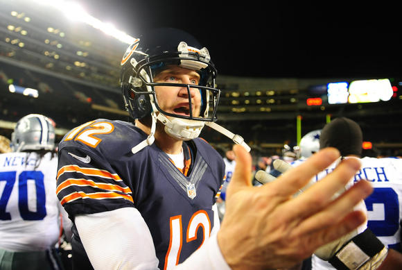 Chicago Bears quarterback Josh McCown
