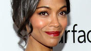 Actress Zoe Saldana explores new worlds with home sale