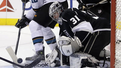 The Only Thing Kings' Martin Jones Loses Is His Shutout