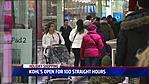 Some Stores Open 100 Straight Hours Until Xmas Eve