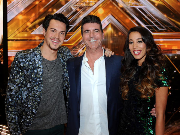X Factor Alex & Sierra