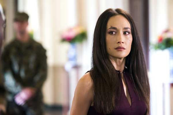 "A secret is revealed on ""Nikita,"" on KTLA. With Maggie Q."