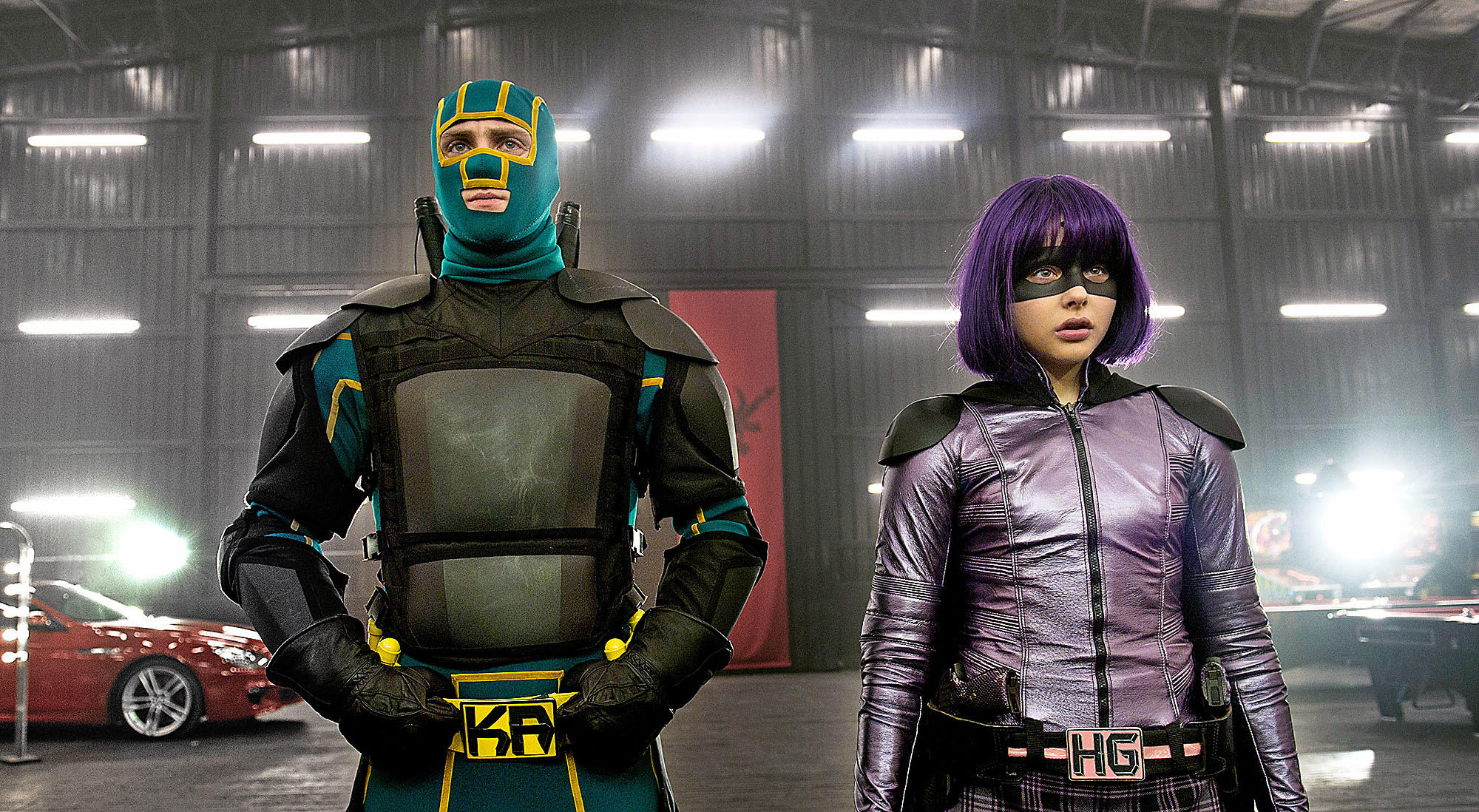 """Young masked hero Kick-Ass (Aaron Taylor-Johnson) and the blade-wielding Hit Girl (Chlo Grace Moretz) return for the follow-up to 2010's irreverent global hit: """"Kick-Ass 2."""""""