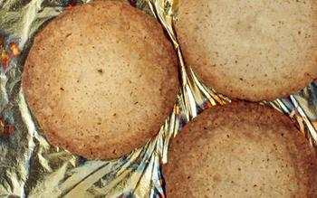 Meyer lemon lavender shortbread
