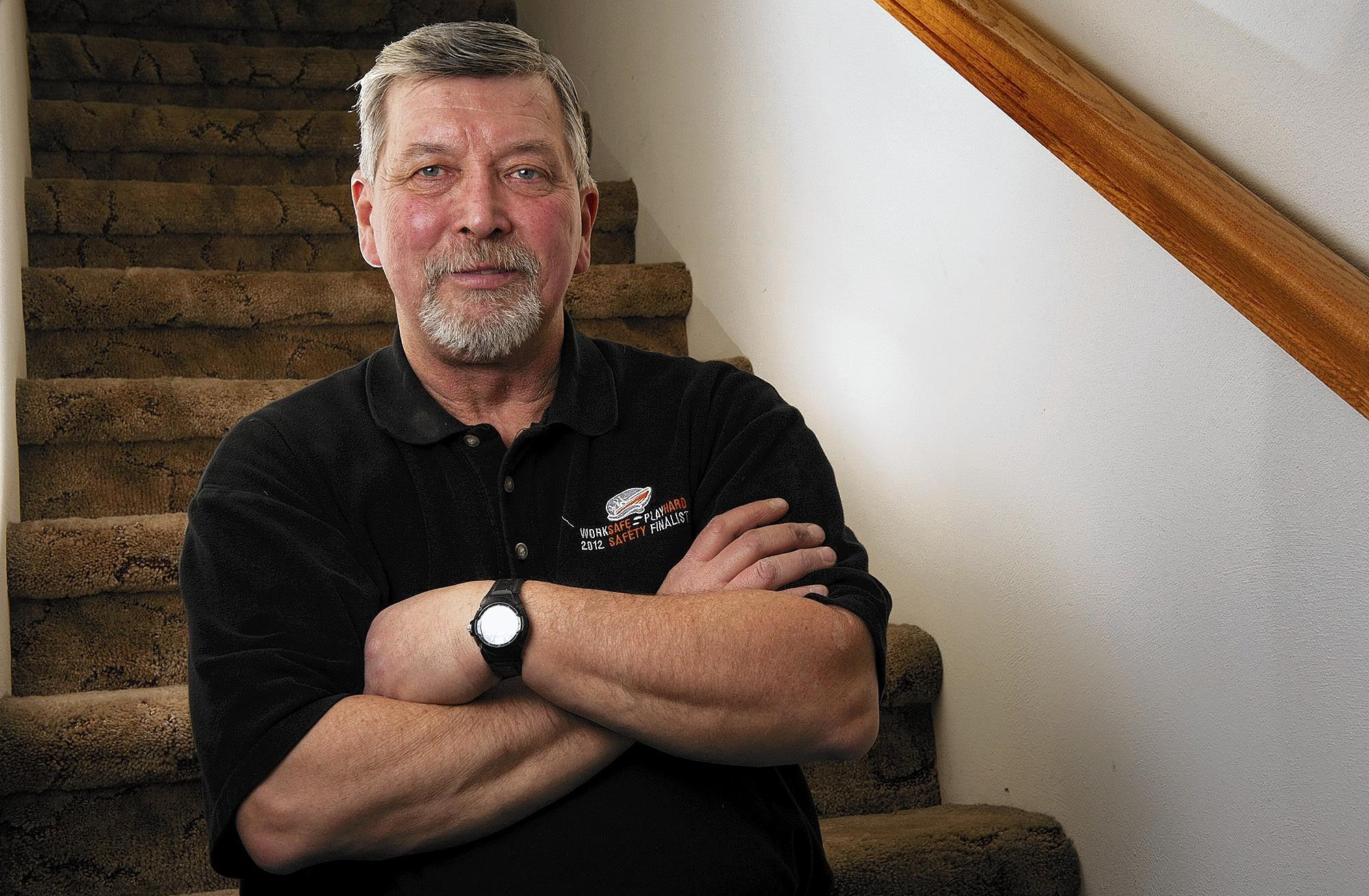 Dan DeWitt has been working in Granite City, Ill., for about 2 1/2 years.