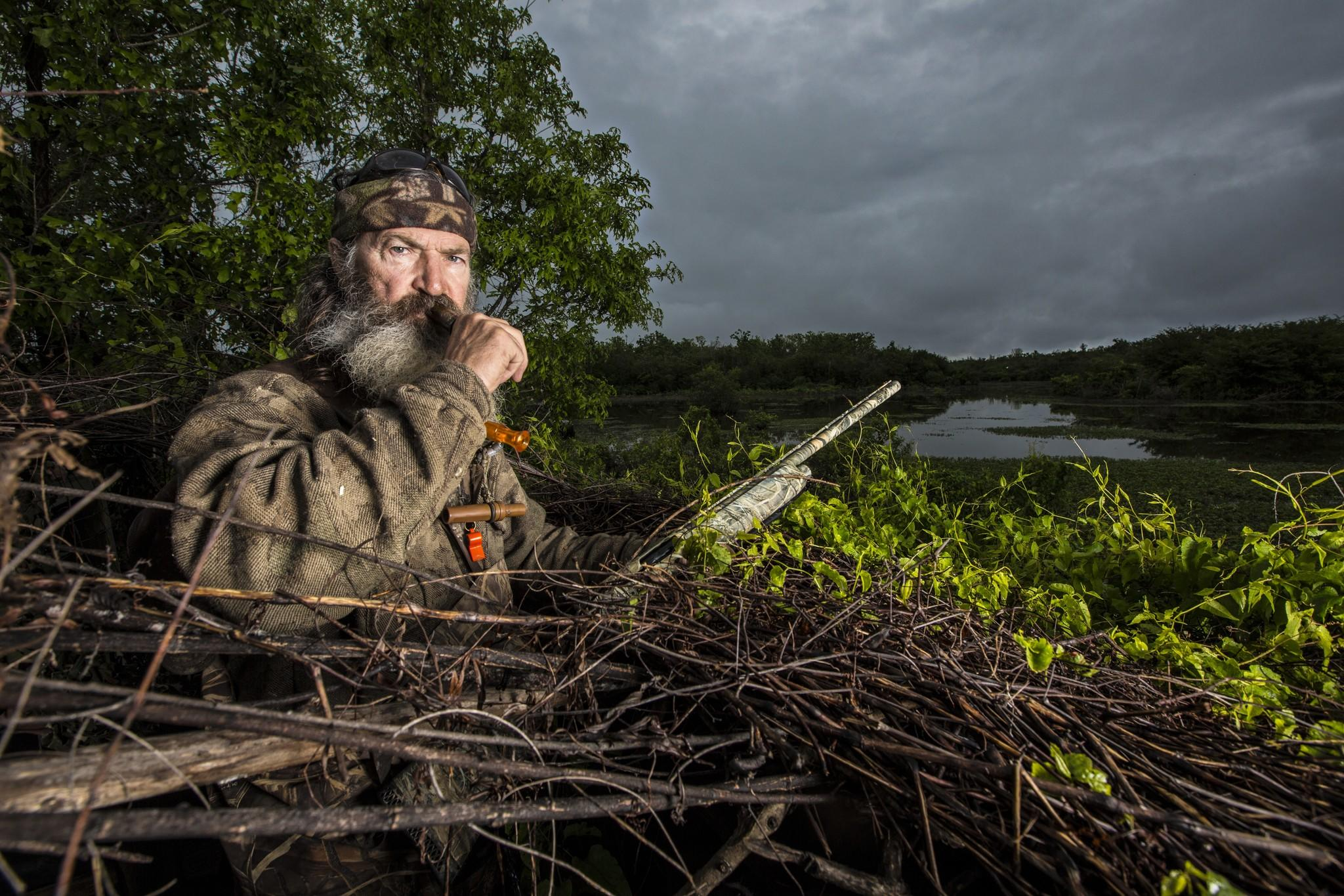Phil Robertson in A&E's 'Duck Dynasty'