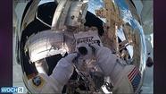 Video: NASA astronauts start spacewalk with makeshift snorkels