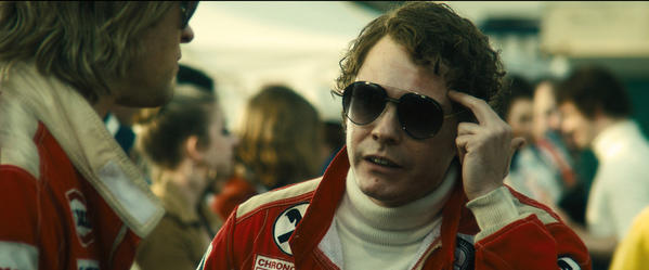 Chris Hemsworth, left, and Daniel Brühl in 'Rush.'