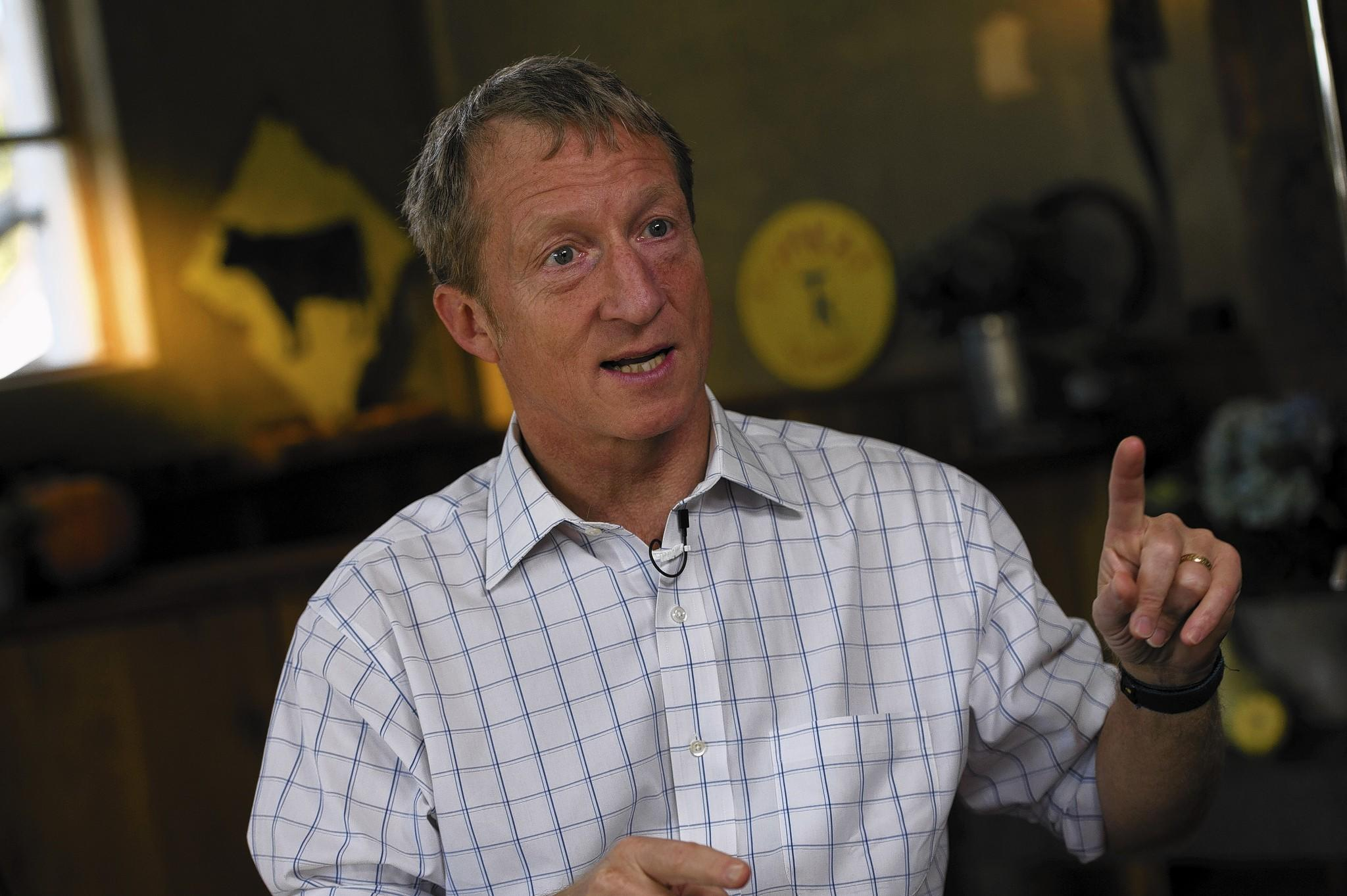 Tom Steyer, a former hedge fund manager, is spending some of his fortune on liberal and environmental issues like fighting the Keystone XL pipeline.