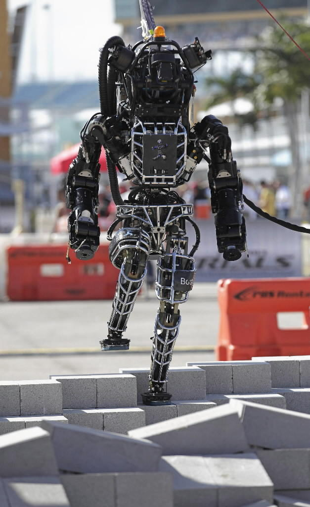 Atlas, a humanoid robot made by Boston Dynamics