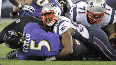 Postgame updates: Patriots 41, Ravens 7