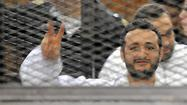 3 Egyptian activists get prison terms for protesting
