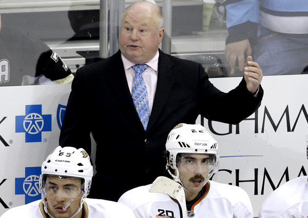 Ducks' Bruce Boudreau looks forward to return to Washington