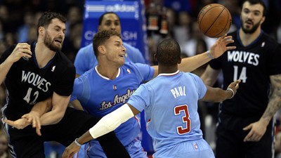 Clippers find a way in 120-116 overtime win over Timberwolves