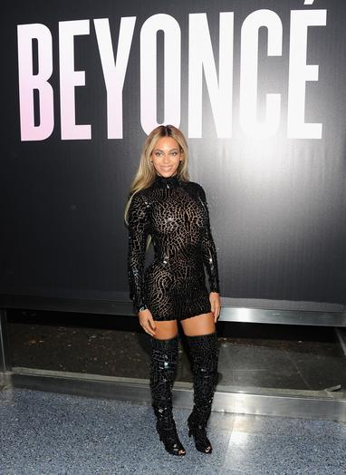 Beyonce celebrates the release of her latest album