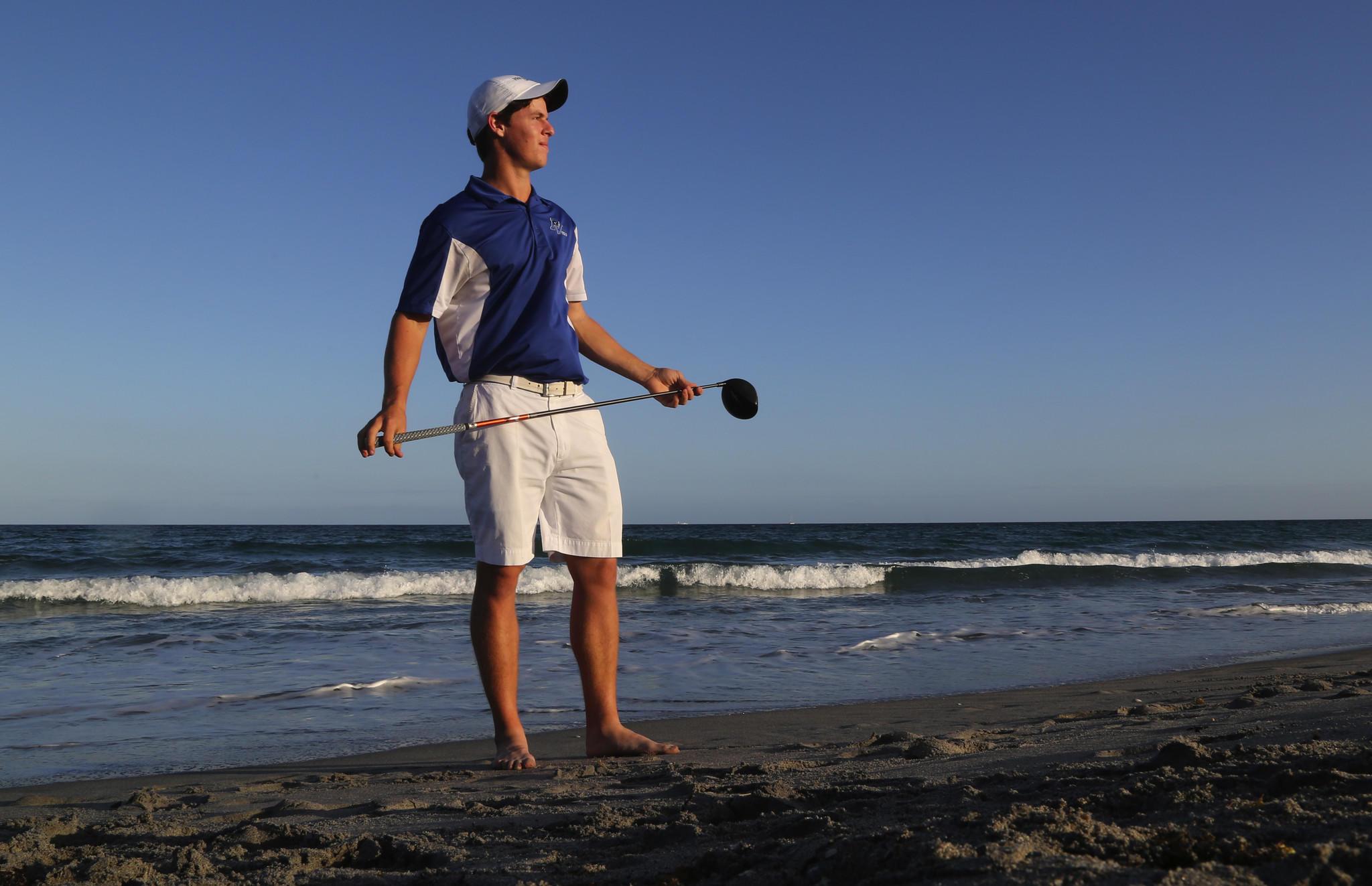 Palm Boys Golfer of the Year: Josh August.