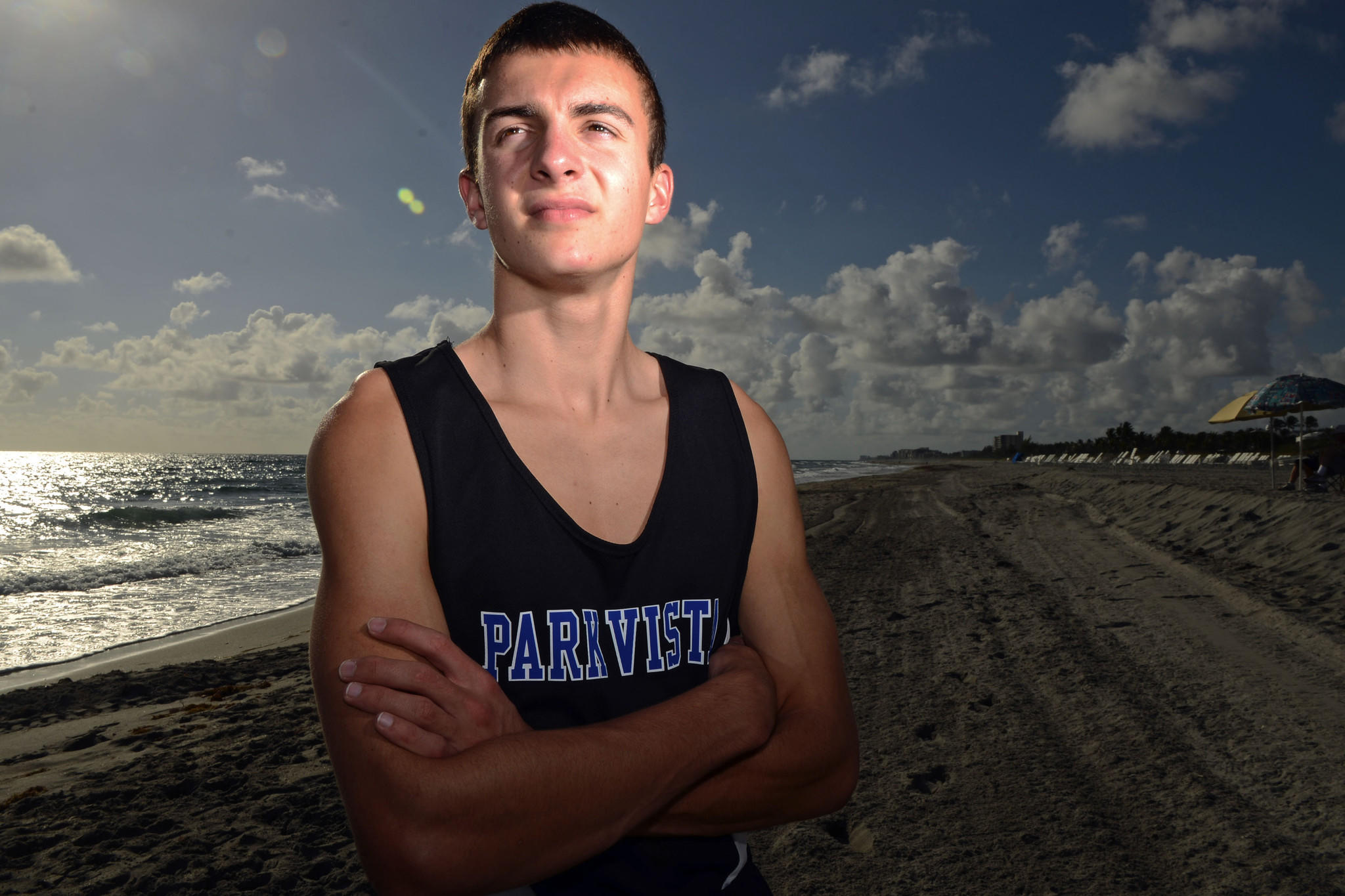 Palm Boys Runner of the Year: Michael Sonderegger.