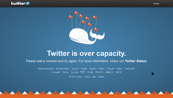 You know what else is over capacity, Twitter Fail Whale? All of these stupid 'Social Media Fails' posts.