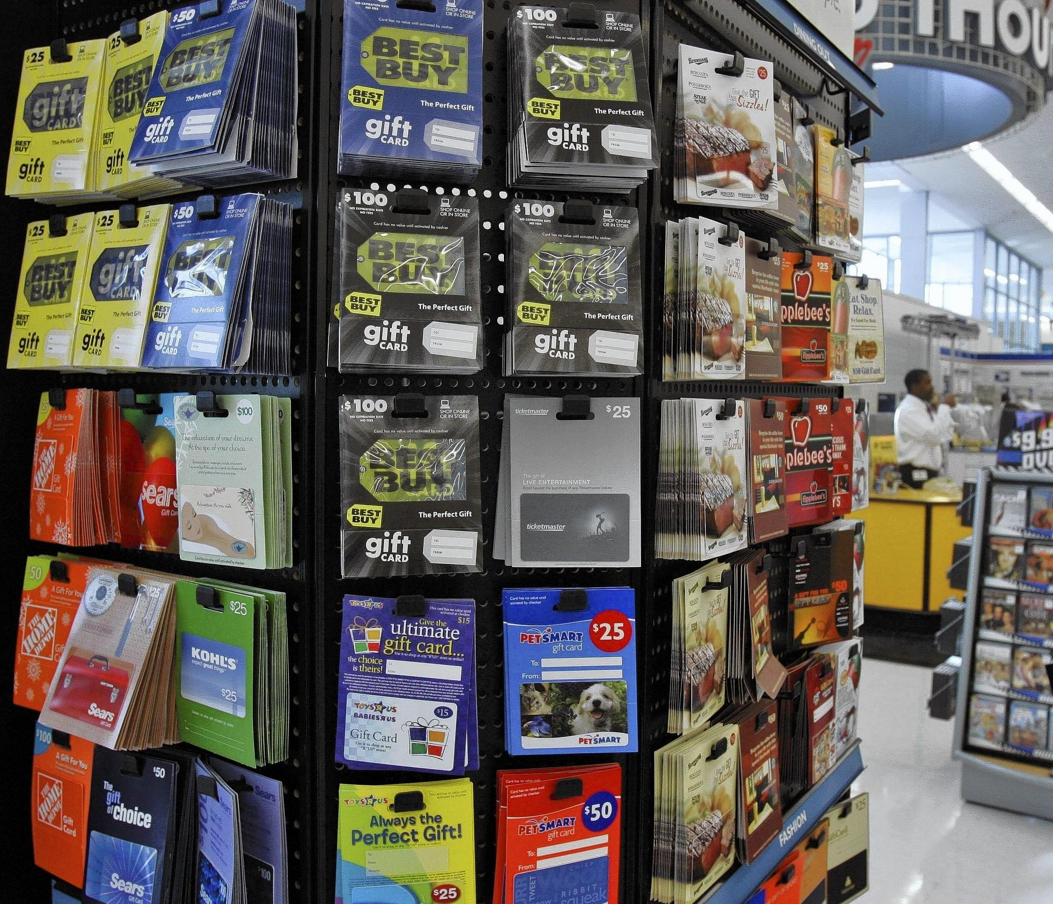 Get the most out of that gift card latimes total spending on gift cards this holiday season will reach about 30 billion the national kristyandbryce Choice Image