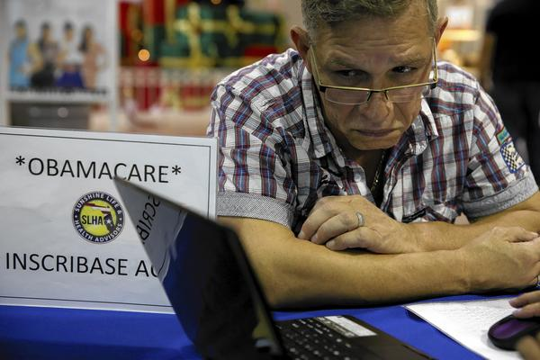 *** BESTPIX *** Affordable Care Act Fair Draws Floridians As Enrollmnent Deadline Looms