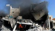 Syria keeps up deadly air offensive in Aleppo