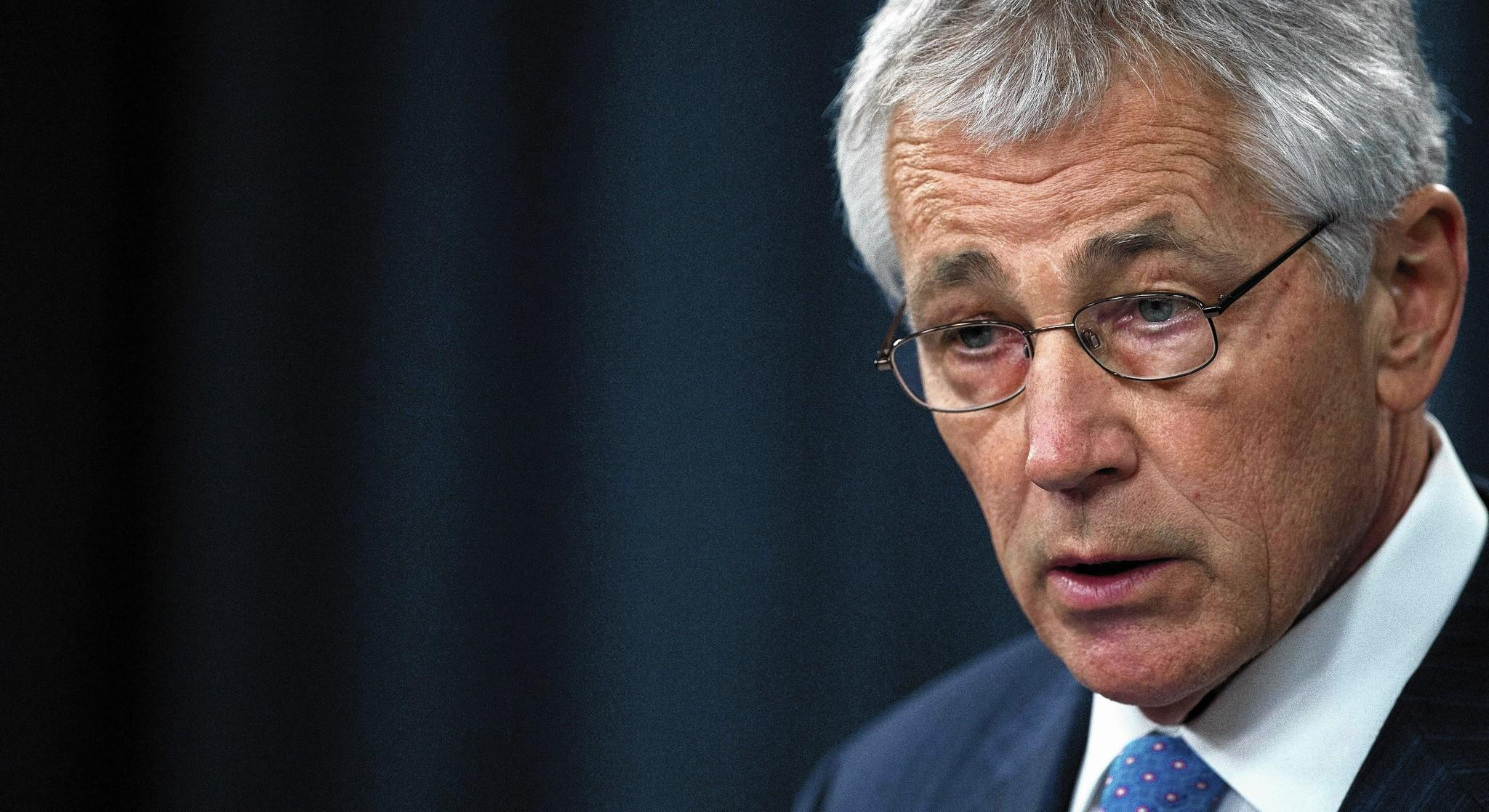 Defense Secretary Chuck Hagel.