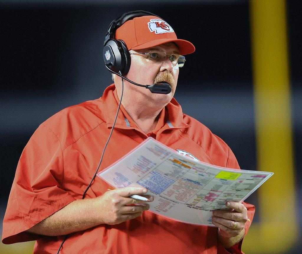 Andy Reid and the Kansas City Chiefs will be an AFC wild-card playoff team.