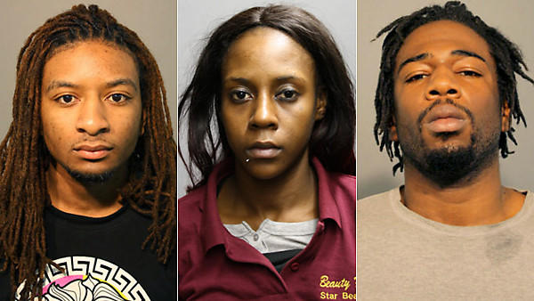 Three charged in Yolanda Holmes homicide