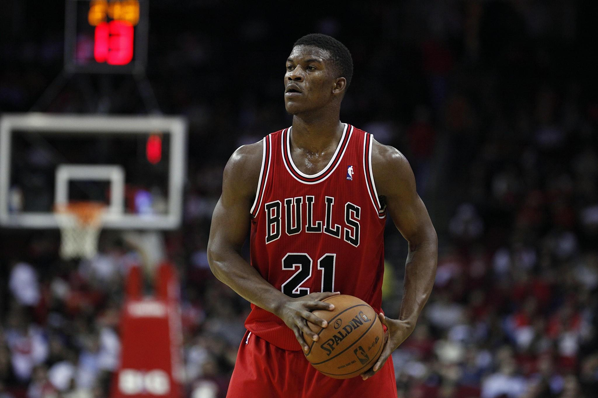 Chicago Bulls shooting guard Jimmy Butler.
