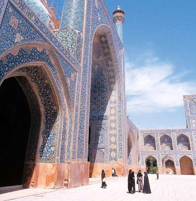 The 17th-century Imam Mosque is one among many architectural wonders in Isfahan, Iran. Photo taken in 1998.