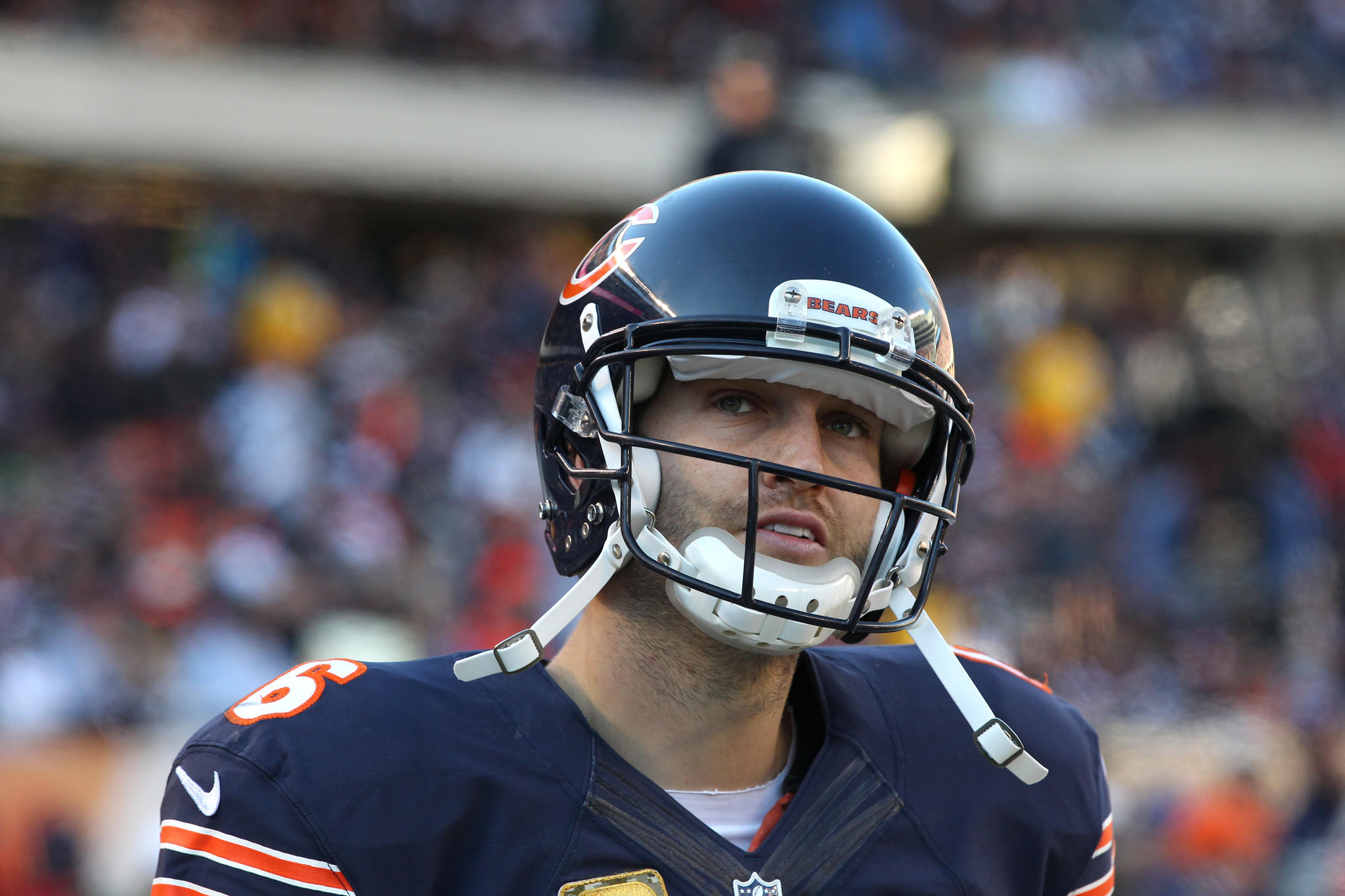 It's crunch time Sunday for Bears quarterback Jay Cutler vs. the Packers.