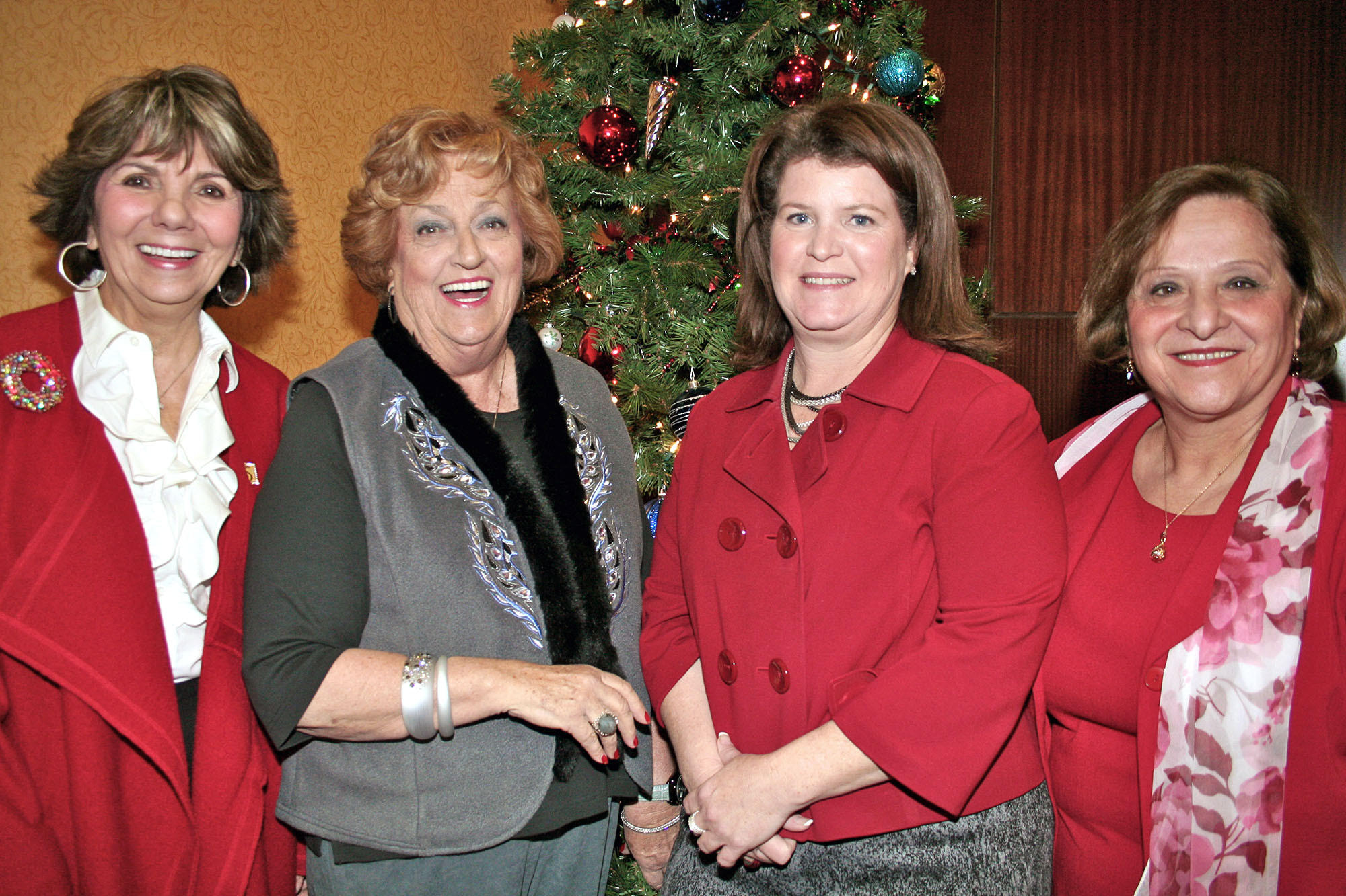Glendale Soroptimists grant recipients included Glendale Commission on the Status of Women Commissioners, from left, Paula Devine, Lynda Burns, Denise Miller (Chairwoman) and Seda Khojayan.