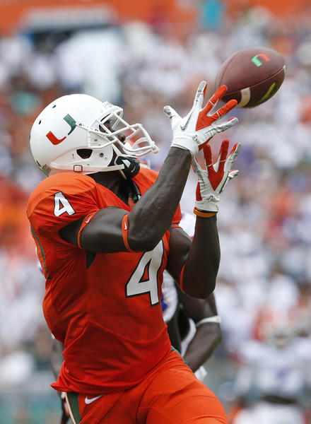 Miami Hurricanes receiver Phillip Dorsett