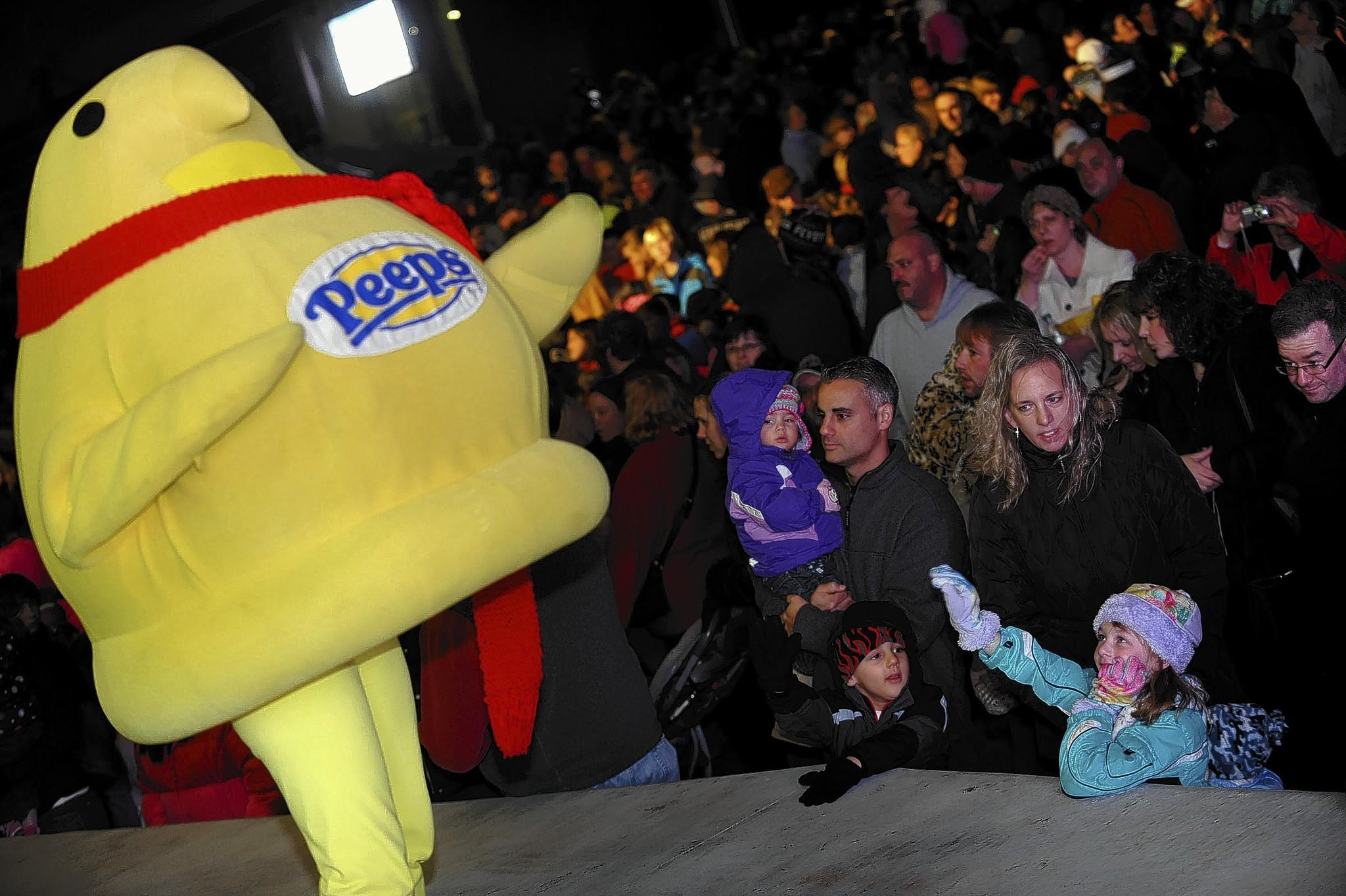 Peeps Fest rings in the new year early with a 5:15 p.m. Peeps drop followed by fireworks at SteelStacks.