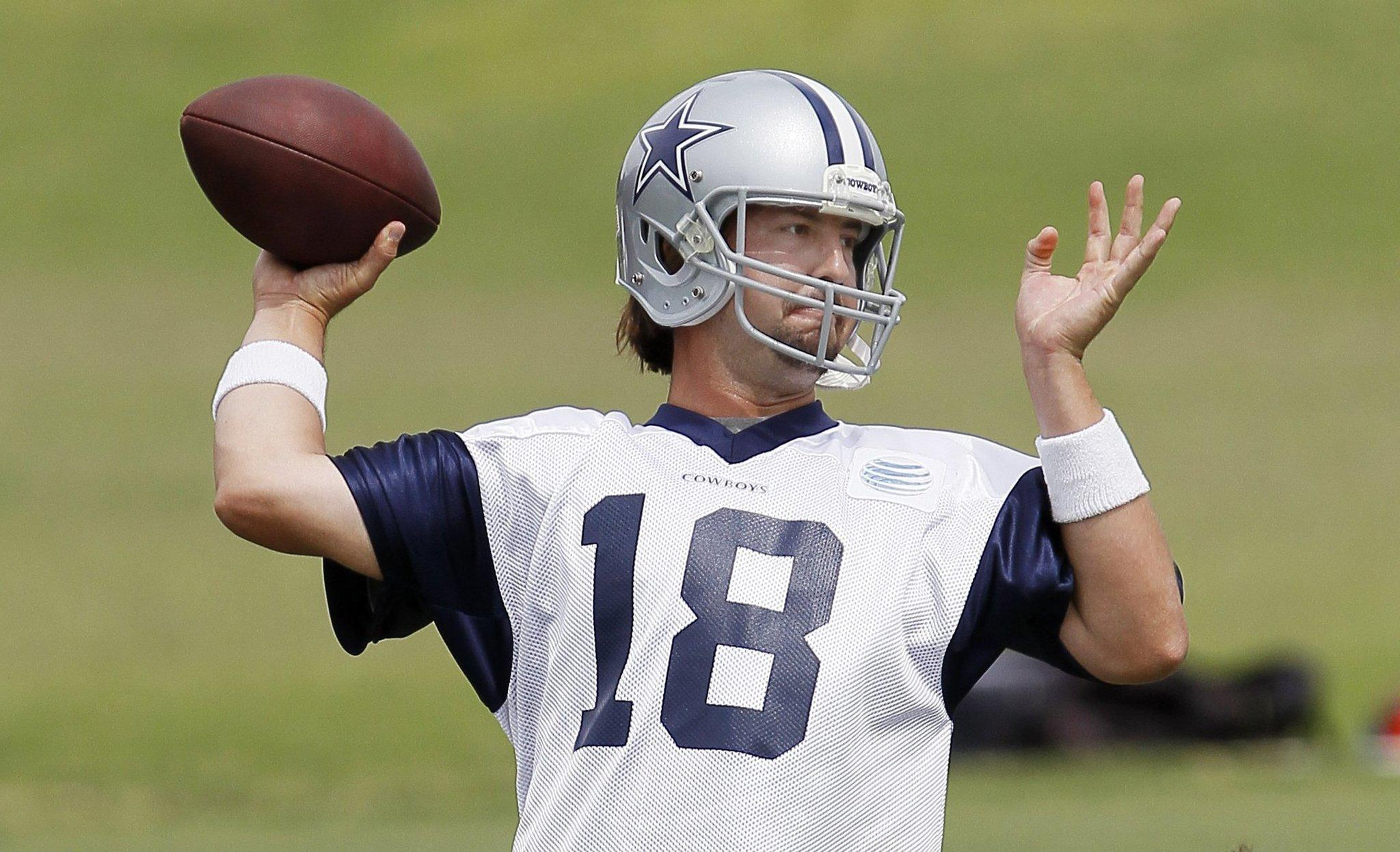 Dallas Cowboys backup quarterback Kyle Orton says he will be ready if needed Sunday.