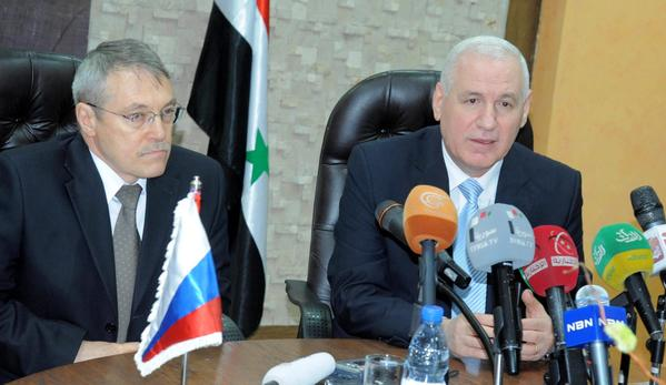 Syria, Russia sign oil production agreement