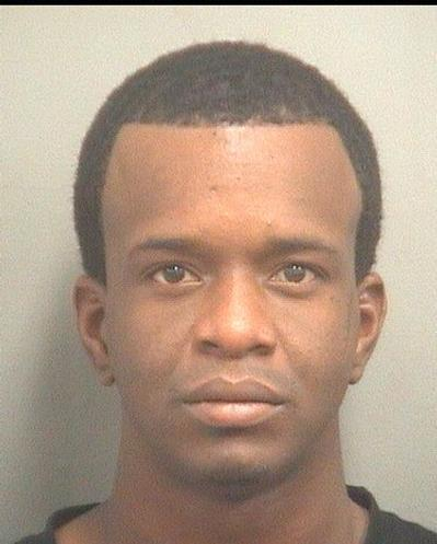 Raymed Fabrice Alexandre, 21, of West Palm Beach, is accused of breaking into the car of a man who rushed his daughter-in-law to the emergency room and forgot to lock his car doors.