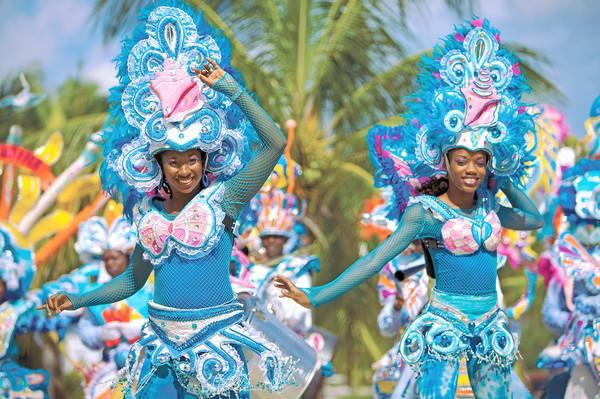 Bahamas Day, Junkanoo parade.