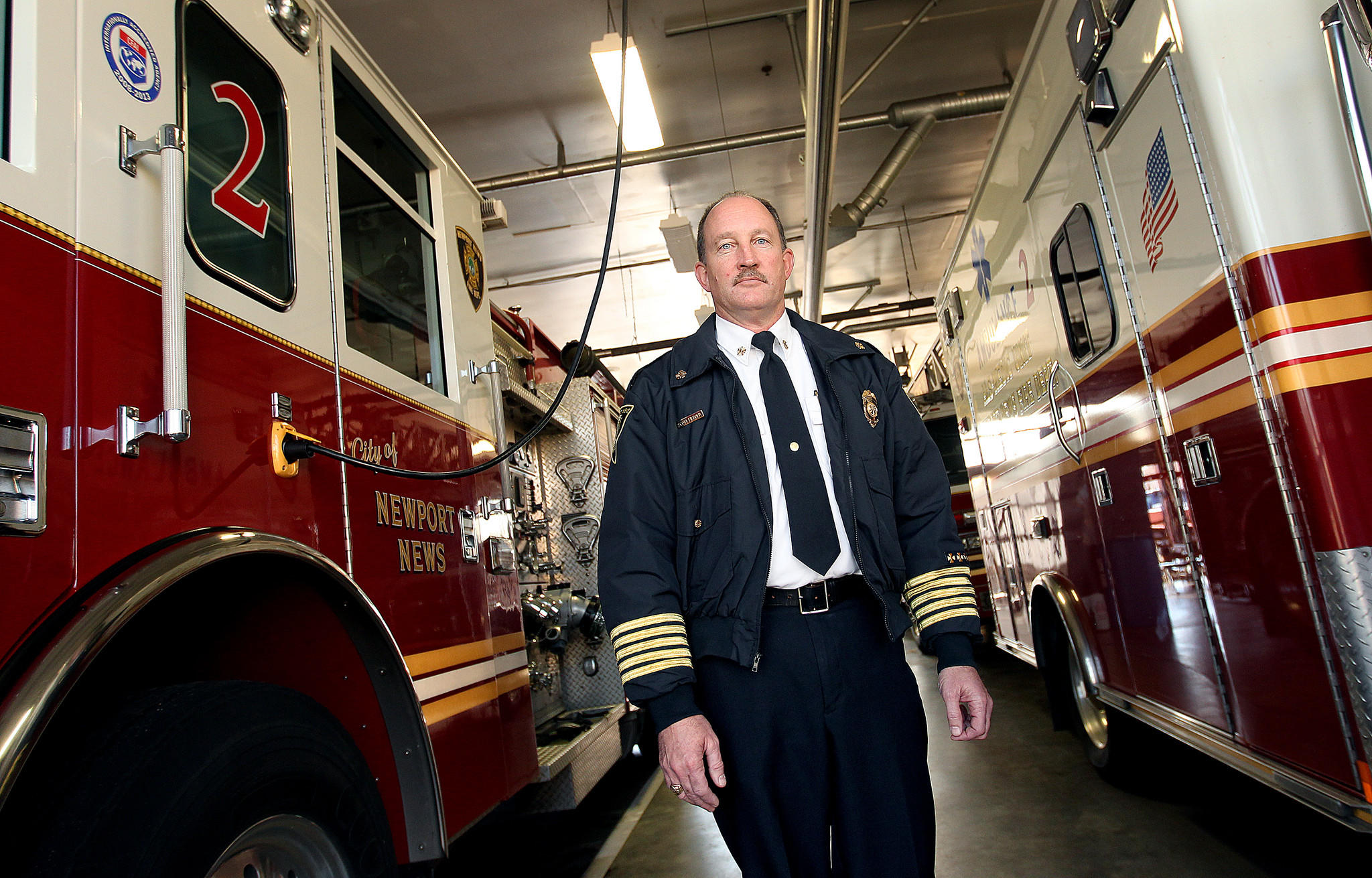Newport News fire chief Scott Liebold is set to retire after 30 years with the department. Liebold is very fond of the time he spent in Station 2 on Wickham Ave.