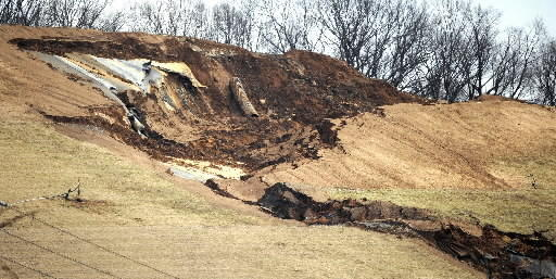 Industrial Drive in Williams Township reopened this week, motnhs after it closed due to a large landslide at the Chrin Bros. Sanitary Landfill.