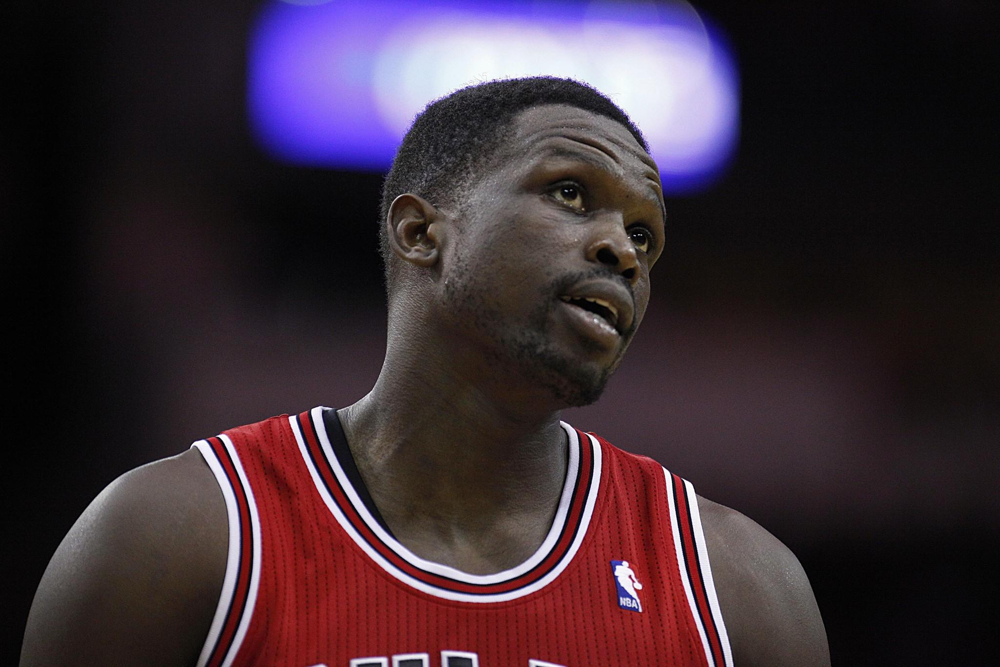 Chicago Bulls forward Luol Deng.
