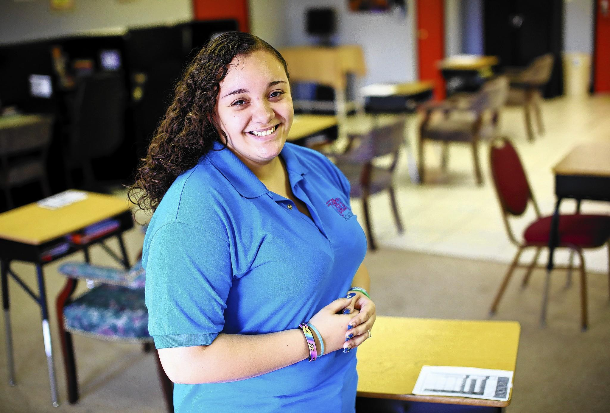 Lissette Gandulla, 19, is a tutor at TDR Learning Academy. She tutors everyday on a wide range of subjects from kindergarten through 12th grade.