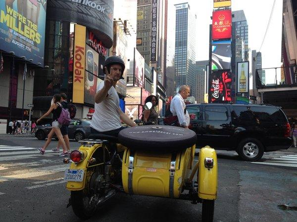 Kindness One reaches New York, not without incident. Next leg of the journey: across the Atlantic in a cargo ship.