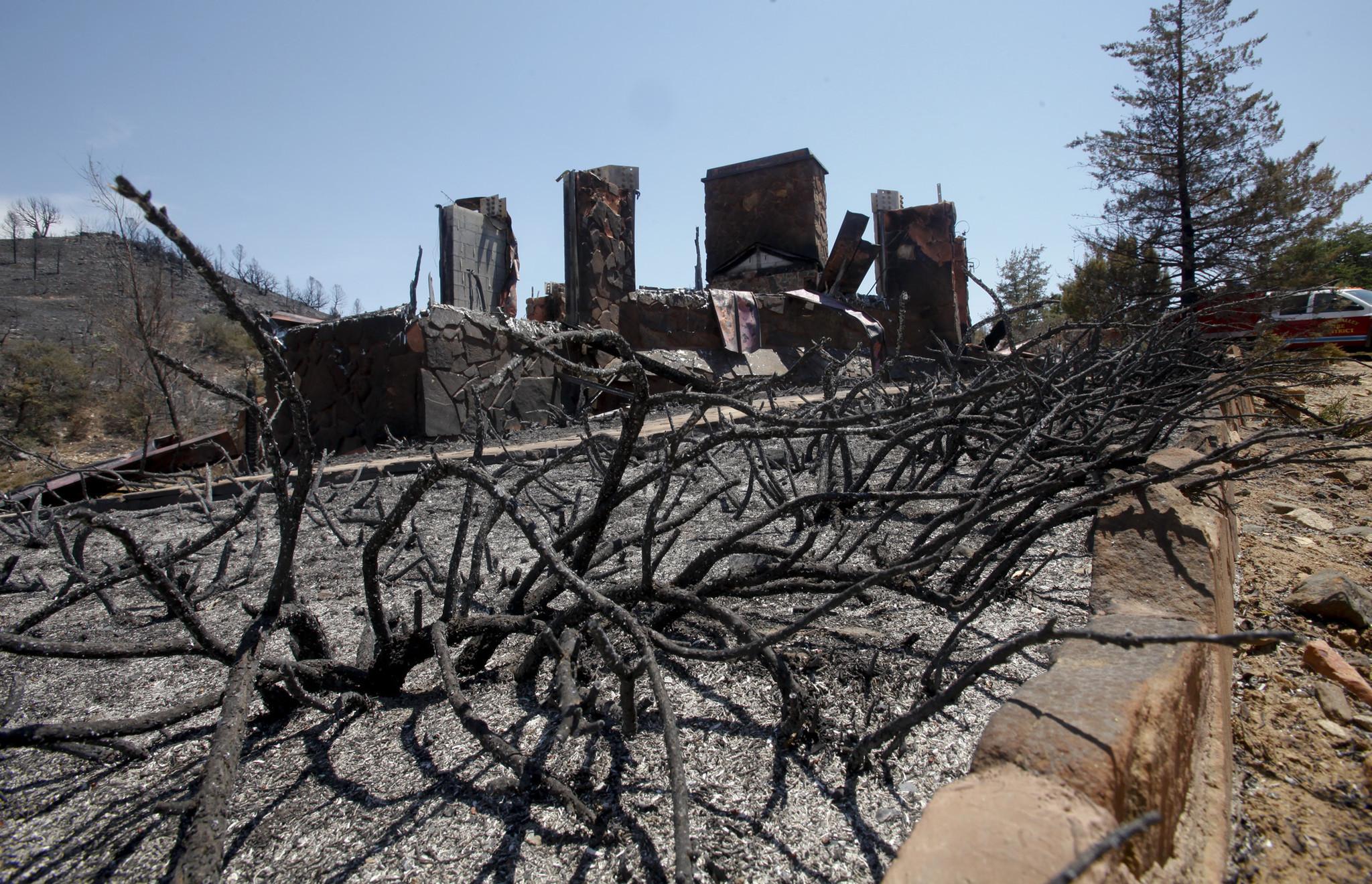 Arizona yavapai county yarnell - Arizona Homeowners Allege Negligence In Fighting Yarnell Hill Fire La Times