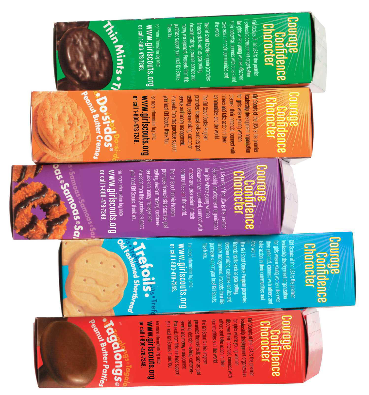 Girl Scout Cookies No Mags, No Sales, No Internet, No TV