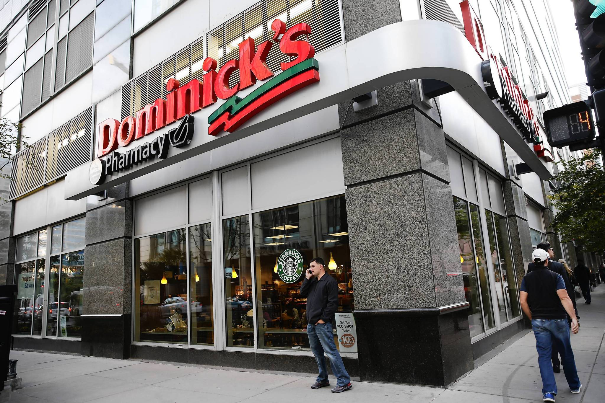Dominick's at 255 E. Grand in downtown Chicago on Oct. 10.