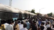 26 passengers killed as fire sweeps train in India